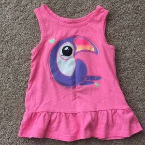 Girls Skirted Tank Top